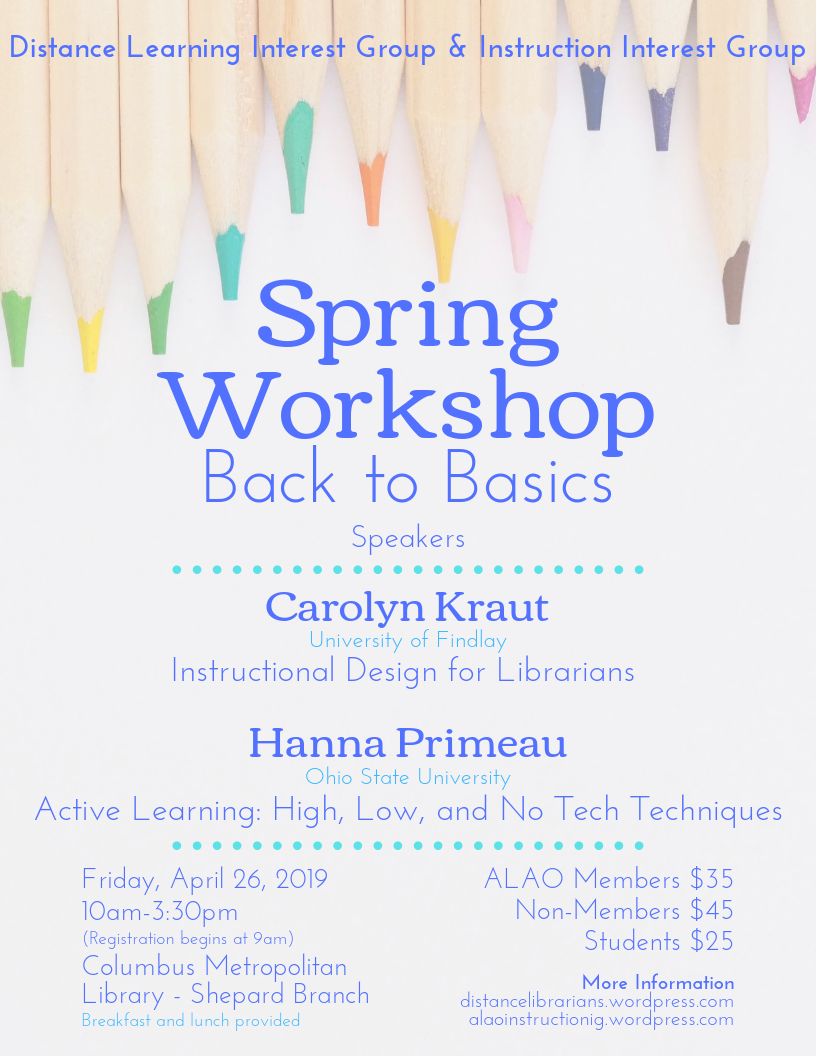 image of workshop promotional flyer